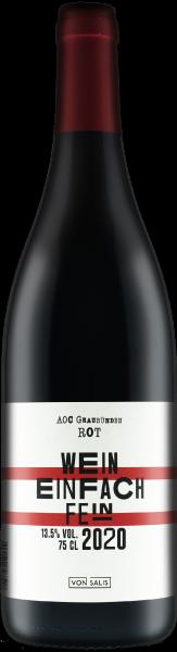 von Salis «Wein einfach fein» ROT 2020