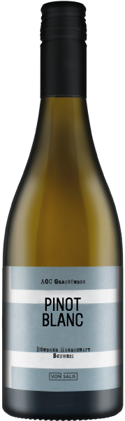 von Salis Bündner Pinot Blanc 2018