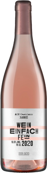 von Salis «Wein einfach fein» ROSÉ 2020