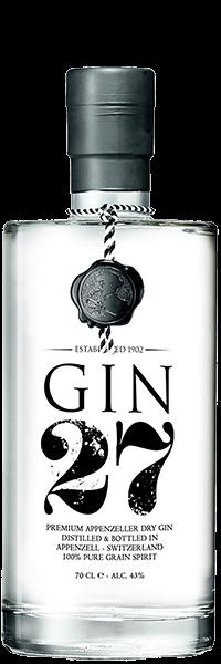 Appenzeller Gin 27 Dry Gin 43°