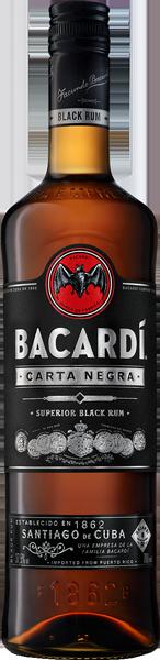 Bacardi Carta Negra 40°