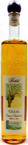 BERTA Giulia Grappa Chardonnay 40°