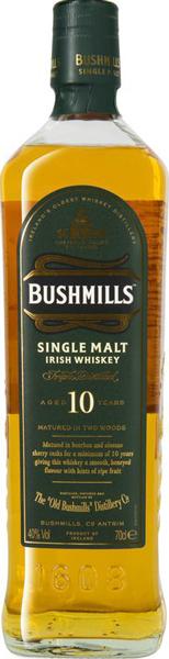 Bushmills Single Malt 10 years 40°