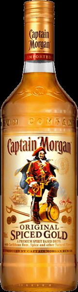 Captain Morgan Spiced gold Rum 35°