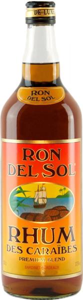 Colonial Rum Ron del Sol 37.5°