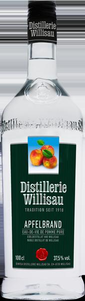 Distillerie Willisau Apfelbrand 37.5°