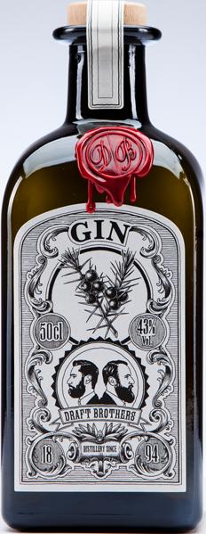 Draftbrothers Original Gin BIO 43°