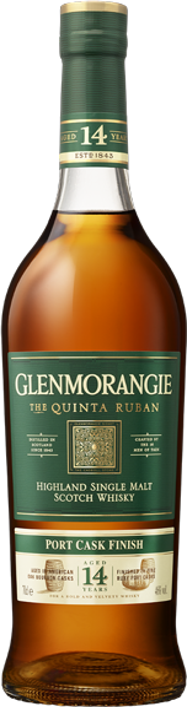 Glenmorangie Quinta Ruban 14 years Port Cask 46°