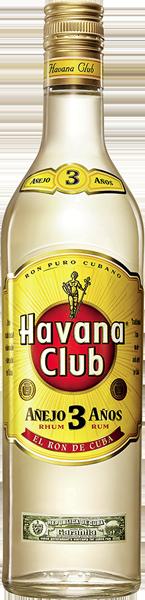 Havana Club Añejo 3 años blanco 40°