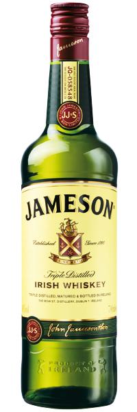 Jameson Irish Whiskey 40°