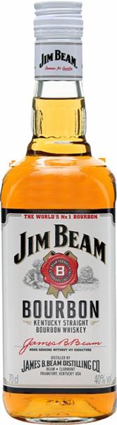 Jim Beam Original Bourbon Whisky White Label 40°