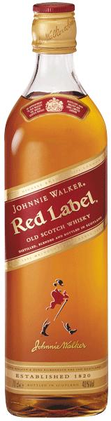 Johnnie Walker Red Label Whisky 40°
