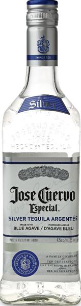 Jose Cuervo Especial Silver Tequila 38°