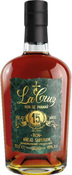 La Cruz Ron 15 anos 40°