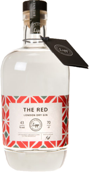 Lipp The Red London Dry Gin 43°