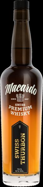 Macardo Whisky Swiss Thurbon 42°