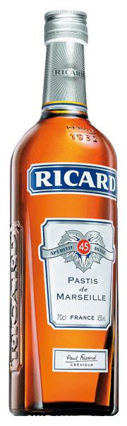 Ricard Anise Pastis 45°