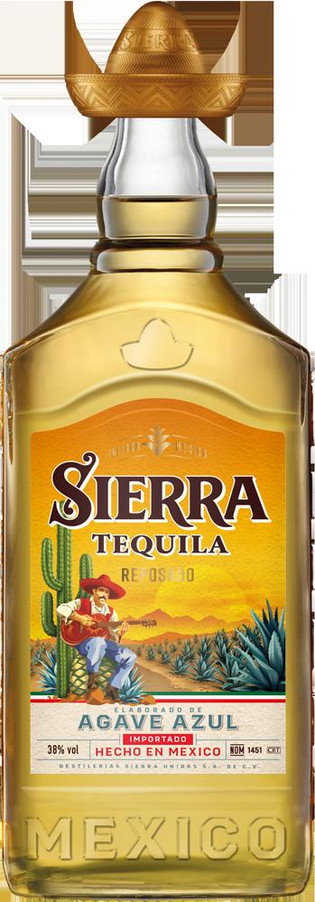 Sierra Tequila Reposado Gold 38°