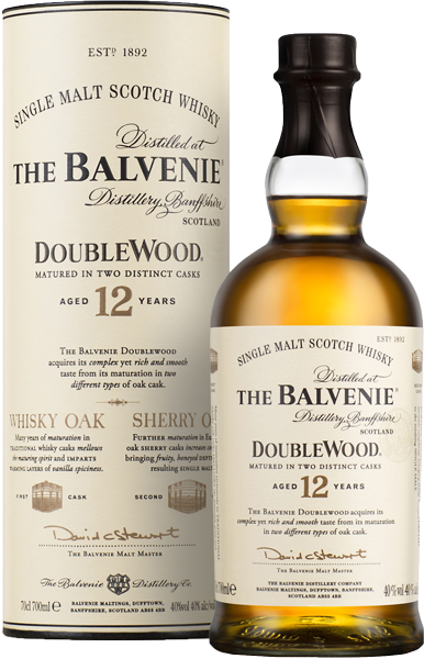 The Balvenie Double Wood 12 years old 40°