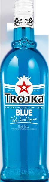 Trojka Blue Vodka Liqueur 20°