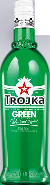 Trojka Green Vodka Liqueur 17°
