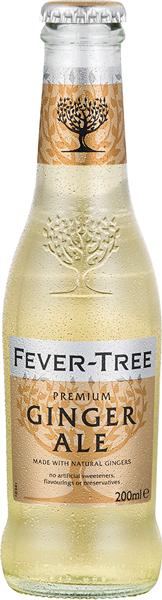 Fever Tree Premium Ginger Ale 0°