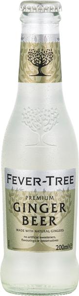 Fever Tree Premium Ginger Beer 0°