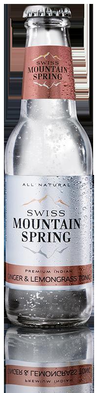 Swiss Mountain Spring Ginger Lemongrass Tonic 0°