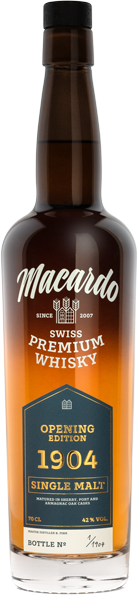 Macardo Opening Edition 1904 Single Malt 42°