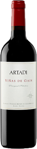 Bodegas Artadi Rioja Viñas de Gain 2016