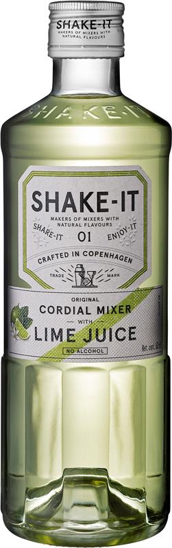 Shake-It Coridial Mixer Lime Juice 0°
